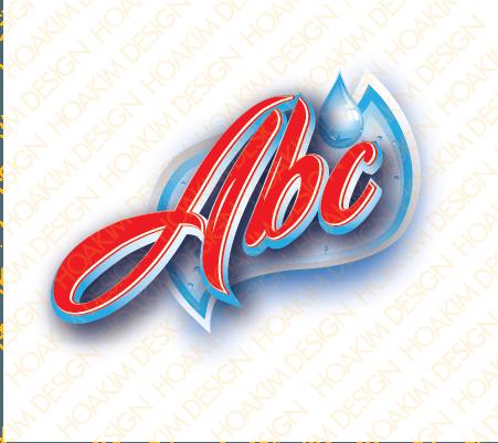 THIẾT KẾ LOGO NƯỚC ABC