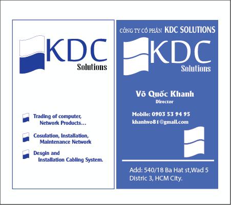 NAMECARD KDC-01