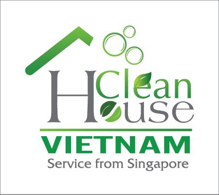 thiết kế logo công ty clean house việt  nam singapore