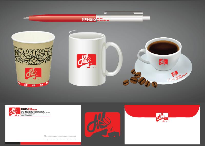 thiết kế thương hiệu cafe