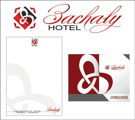 thiết kế bộ nhận diện nhà hàng khách sạn