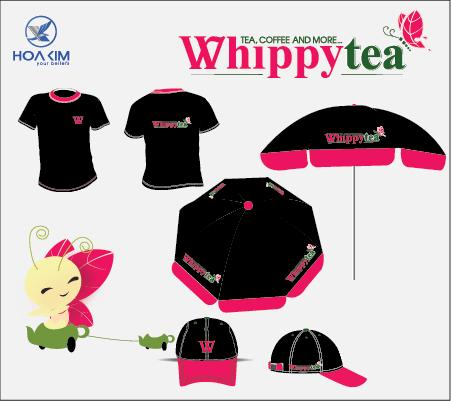 thiết kế thương hiệu whippy