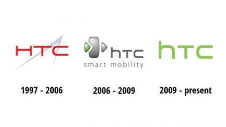 Lịch sử thiết kế logo HTC