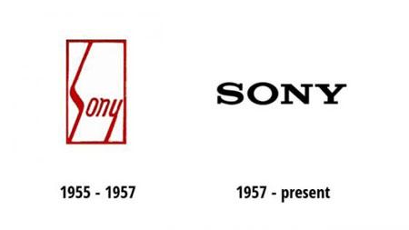 Lịch sử thiết kế logo Sony