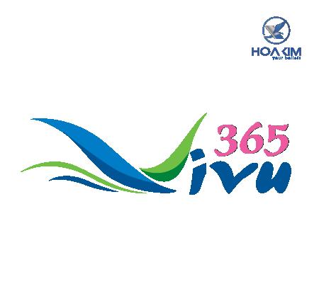 thiết kế logo công ty du lịch vi vu 365