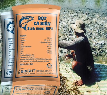 thiết kế bao bì thức ăn cho cá