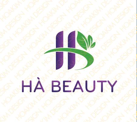 Dự án logo giá rẻ cho công ty Hà Beauty