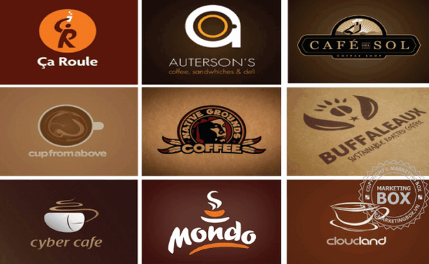 Mẫu logo quán cafe đẹp